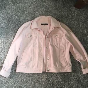 Light pink Ralph Lauren denim jean jacket Large